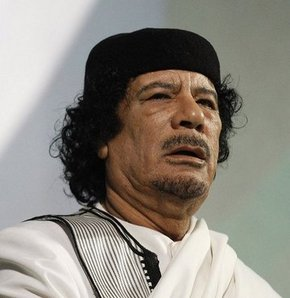 Kaddafi'den mesaj var