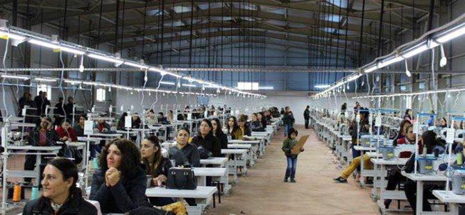Dersim'in ilk tekstil atölyesi üretime başladı
