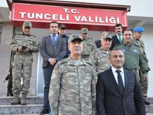 Genelkurmay Başkanı  Akar'dan Elazığ ve  Dersim ziyareti