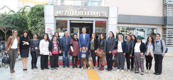 Mezitli Belediyesi, Hozatlı kadınları ağırladı