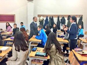 Vali Sonel'den Dersim Anadolu Lisesi'ne ziyaret