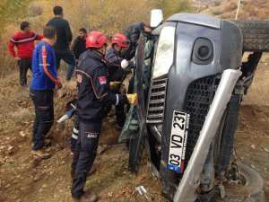Dersim'de kaza: 1 yaralı