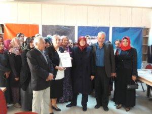 AK Parti Kadınkolları Tunceli'de ilçe kongrelerini tamamladı