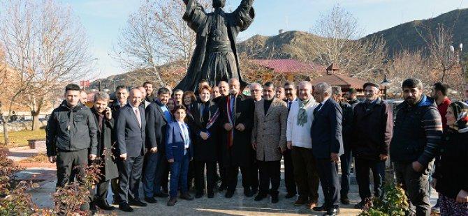 Meral Akşener Dersim'i ziyaret etti