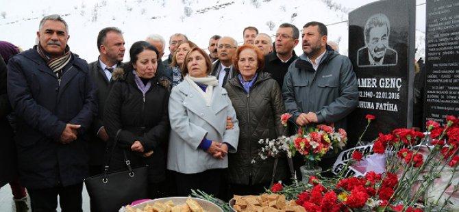 Kamer Genç, ölümünün 2. yılında anıldı VİDEO HABER