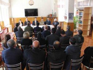 Çemişgezek'te okul güvenliği toplantısı yapıldı
