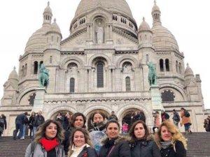 Öğretmenler Paris'i gezdi