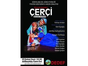 Alibeyköy Cemevi'nde 'Çerçi' tiyatro gösterimi olacak