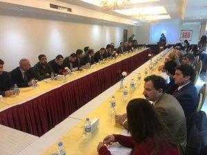 """Tunceli'de """"Şehrin ekonomik beklentileri"""" toplantısı"""