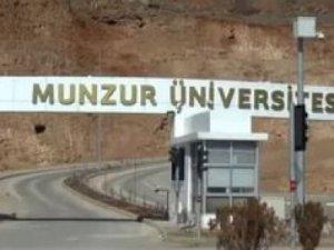 Munzur Üniversitesi'nde tasarruf tedbirleri!