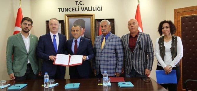 Tunceli'ye kütüphane ve konferans salonu yapılacak
