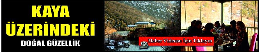 Kaya üzerindeki restoran doğal güzellik sunuyor VİDEO HABER