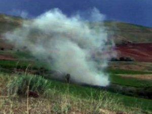 Mantar toplayan köylü mayına bastı