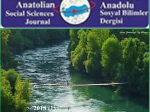 Munzur Nehri İlk Kez Bilimsel Bir Derginin Kapağı Oldu