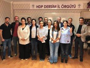 Dersim'de HDP'den 12 aday adayı
