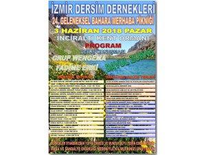 İzmir Dersimliler Derneği piknik düzenleyecek
