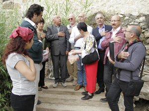 DAD yöneticileri Ana Fatma'yı ziyaret etti