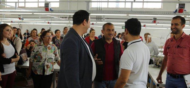 Tunceli'den Avrupa'ya tekstil ürünü ihracatı başladı
