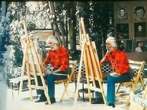 İzmir'in ikonik ikiz ressamları Hasan-Hüseyin Varol