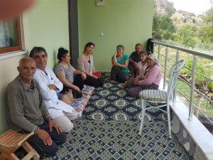İl Müdürü Bildirici'den yardıma muhtaç aileye ziyaret