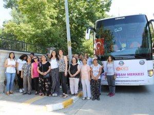 Kadınlar Karadeniz turuna gönderildi