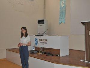 Üniversitede kanser bilgilendirme konferansı