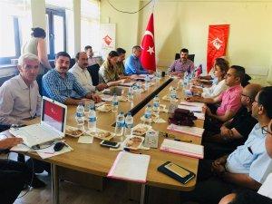 Kadına yönelik şiddetle mücadele komisyon toplantısı yapıldı