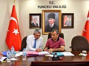 """""""Doğa Sporları Altyapının Güçlendirilmesi Projesi"""" için imzalar atıldı"""
