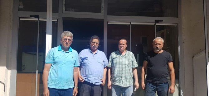 Arslan ve Özdemir'den gazetemize ziyaret