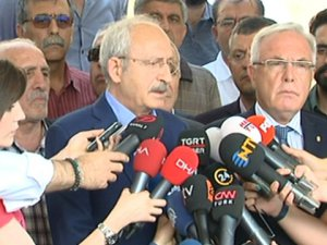 Kılıçdaroğlu'ndan milletvekili Şaroğlu'na ziyaret