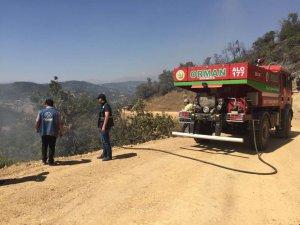Valilikten orman yangını açıklaması