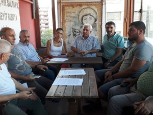İzmir'de Dersim'deki orman yangınları için ortak inisiyatif