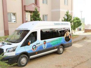 Engelli vatandaşlara minibüs hizmeti