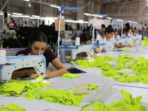 Belediyeden tekstil çalışanlarına destek