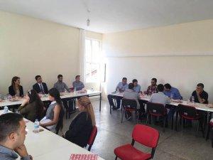 Kaymakam Kazez'den meslek yüksek okuluna ziyaret