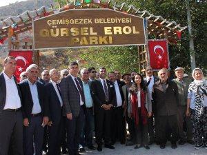 CHP'li Erol, Diyap Ağa'nın kabrini ziyaret etti