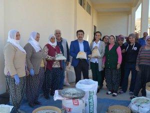 Kaymakam Çam'dan tarım kooperatifine ziyaret