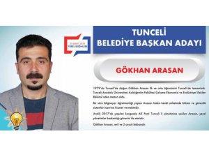 AK Parti Tunceli Belediye Başkanı Adayı Gökhan Arasan