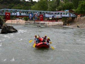 Dünya Rafting Şampiyonası Tunceli'de Yapılacak