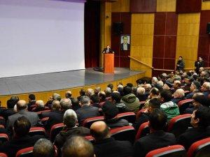 Muhtarlar Toplantısı, Vali Sonel Başkanlığında Yapıldı