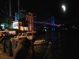 İstanbul'da ay tutulması böyle izlendi VİDEO