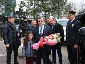 Emniyet Müdürü Uzunkaya'dan Tunceli'ye ziyaret