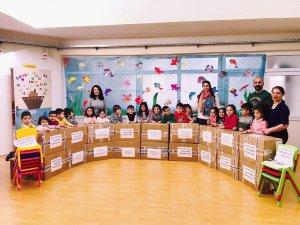 'Haydi sende oyna' e-Twinning' projesi yüzlerce çocuğu sevindirdi