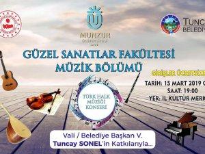 Güzel Sanatlar Fakültesi Müzik Bölümünden Konser