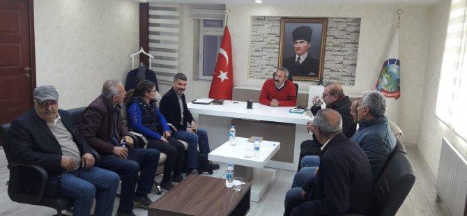 HDP'den Maçoğlu'na ziyaret