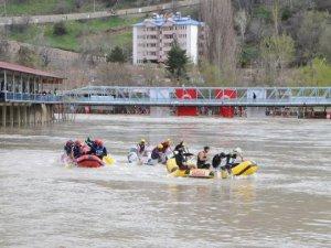 Dünya Rafting Şampiyonası için hazırlıklar sürüyor