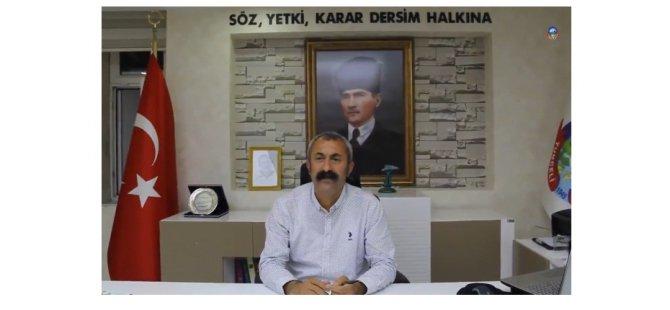 """Maçoğlu'ndan """"Söz, yetki, karar Dersim halkına"""" yazısı"""