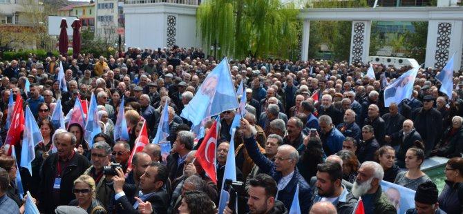 Kılıçdaroğlu'na saldırı Dersim'de protesto edildi