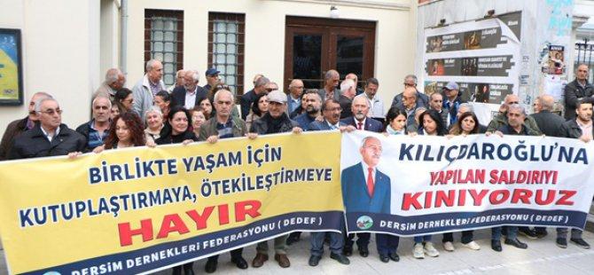 Dersim Dernekleri Federasyonu: İçişleri Bakanı ve Ankara Valisi görevden alınsın