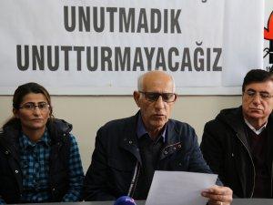 Dersim Emek Demokrasi Güçleri: Soykırımı unutturmayacağız